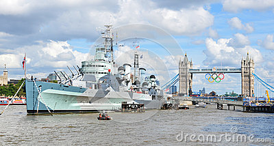 Thames Editorial Stock Image