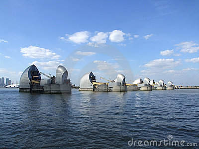 The Thames Barrier 4