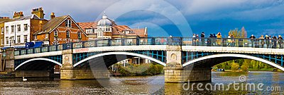 Thames bridge Windsor Editorial Photo