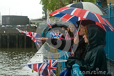 Thames Diamond Jubilee Pageant Editorial Image
