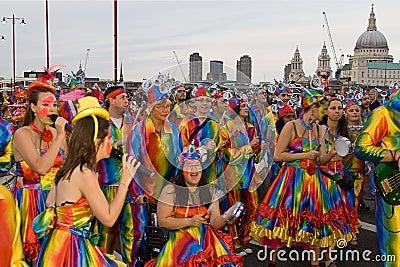 Thames festival 2008 Editorial Stock Photo