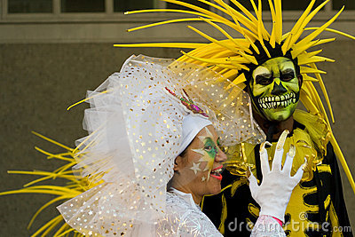 Thames Festival Night Carnival Editorial Photography