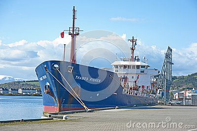 Thames Fisher at Inverness Editorial Stock Image