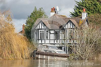 Thames Flood Editorial Image