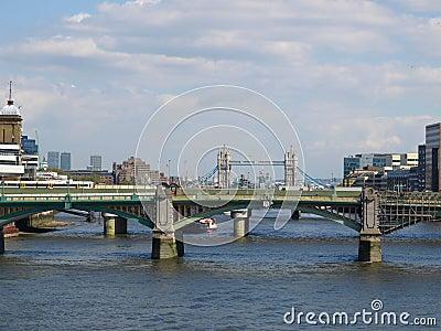 река thames london