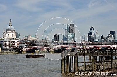Thames at Low tide