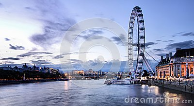 Thames river in London Editorial Stock Image