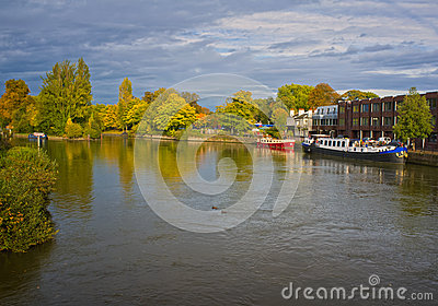 Thames River, Windsor, England