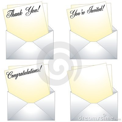 Thank You Notes With Envelopes