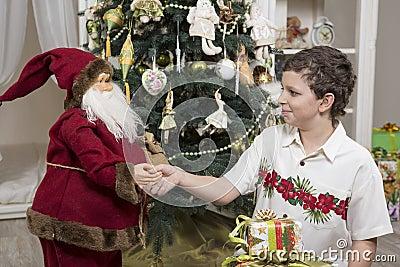 Thank you, Santa Clause