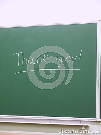 Thank you on school board