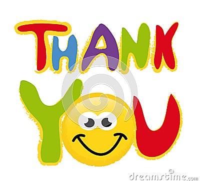 Thank you - vector