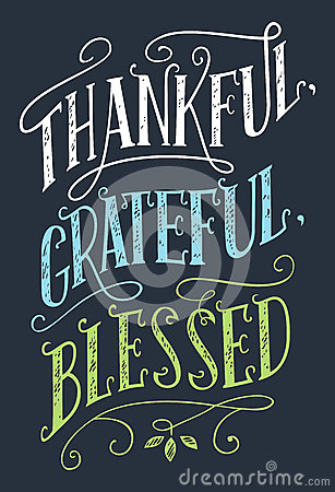 Free Thankful, Grateful, Blessed Home Decor Sign Stock Photos - 88453473