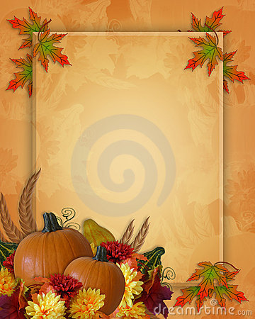 Free Thanksgiving Autumn Fall Background Royalty Free Stock Image - 8322266