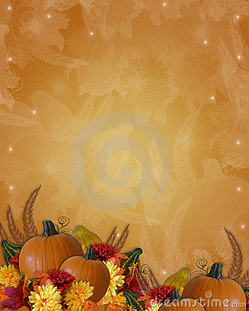 Free Thanksgiving Autumn Fall Border Stock Photo - 6979340