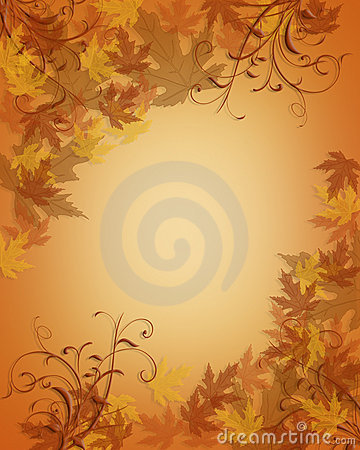 Free Thanksgiving Autumn Fall Leaves Background Royalty Free Stock Photo - 6921265
