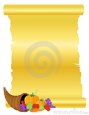 Thanksgiving banner background