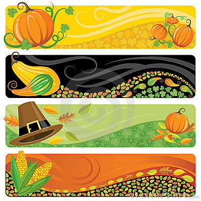 Free Thanksgiving Banners Stock Photos - 10754383