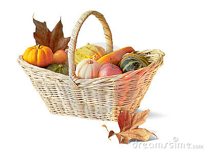 Thanksgiving basket