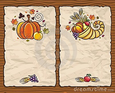 Thanksgiving cards 1