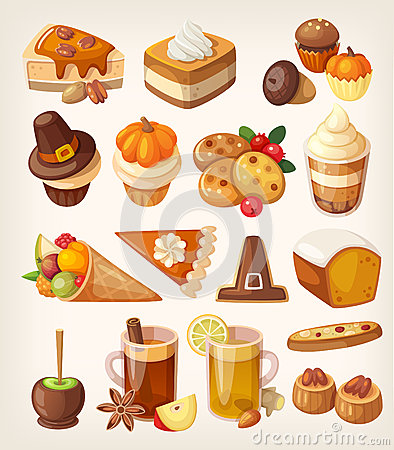 Free Thanksgiving Day Desserts Royalty Free Stock Photos - 62240118