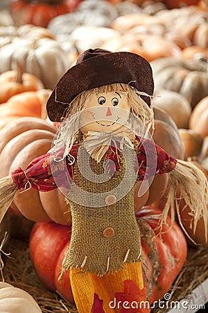 Thanksgiving Doll Scarecrow