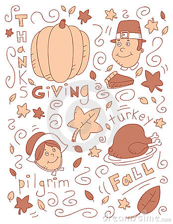 Thanksgiving Doodle