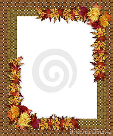 Free Thanksgiving Fall Autumn Border Royalty Free Stock Images - 10532879