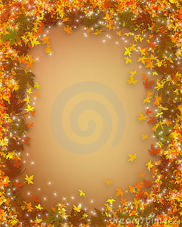 Free Thanksgiving Fall Autumn Border Stock Image - 4091061