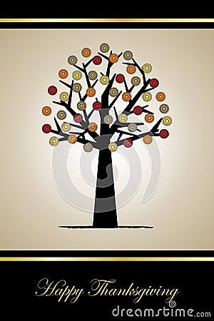 Free Thanksgiving Greeting Card Royalty Free Stock Photo - 16235975