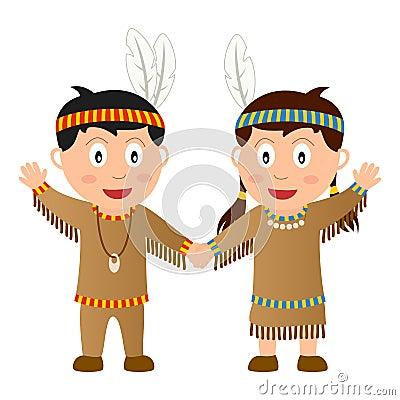 Thanksgiving Native Kids