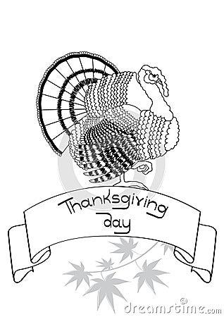 Thanksgiving ornate.