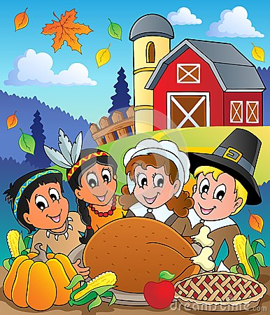 Thanksgiving pilgrim theme 4