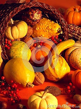Free Thanksgiving Scene 6 Stock Image - 1589451