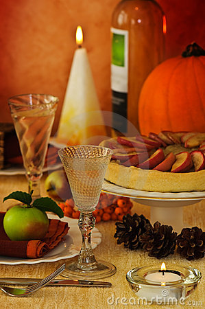 Free Thanksgiving Table Stock Photos - 10906633