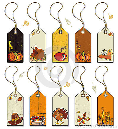 Free Thanksgiving Tags Stock Images - 6695834