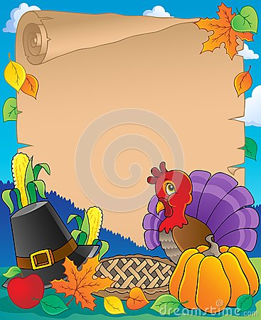 Thanksgiving theme parchment 1