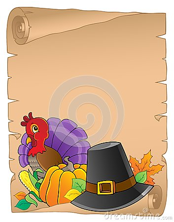 Thanksgiving theme parchment 2