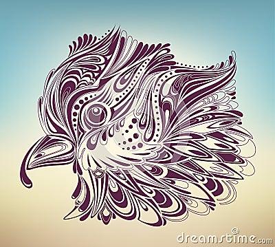Thanksgiving turkey abstract