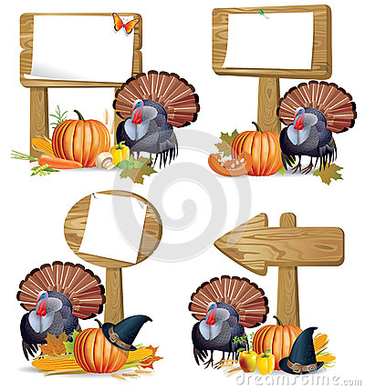 Free Thanksgiving Turkey Board Royalty Free Stock Photo - 25943045