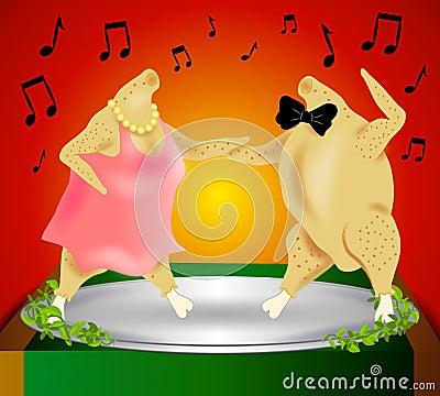 Thanksgiving Turkey Dance