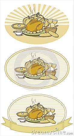 Free Thanksgiving Turkey-Duotone Stock Photos - 1400343