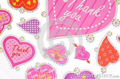 Thankyou stickers