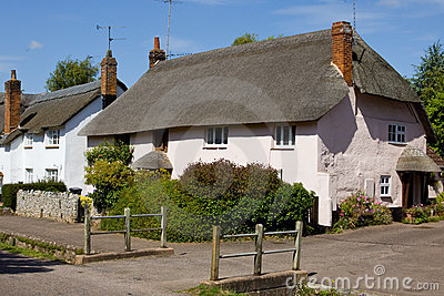 Thatched Roofed Cottage