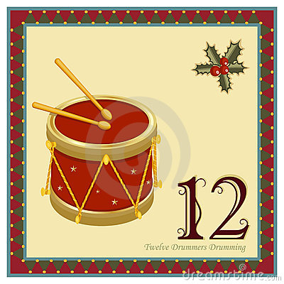 Free The 12 Days Of Christmas Royalty Free Stock Photography - 17221507