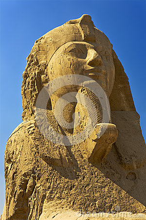 Free The Alabaster Sphinx At Memphis Royalty Free Stock Image - 33507286
