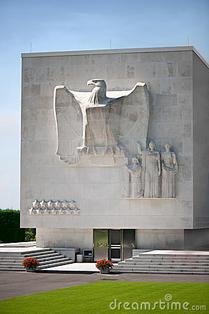 Free The American WW2 Memorial In Ardennes Royalty Free Stock Image - 16423476