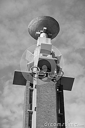 Free The Amsterdam Olympic Cauldron Royalty Free Stock Photos - 61143498