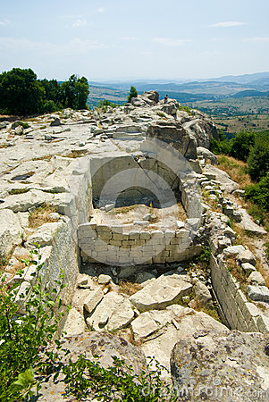 Free The Ancient Thracian City Of Perperikon Royalty Free Stock Image - 43606986