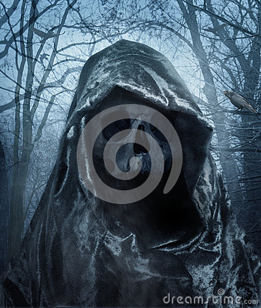 Free The Angel Of Death. Demon Of Darkness. Royalty Free Stock Photos - 50387448
